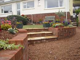 Small Picture Garden Retaining Wall Design Uk Container Gardening Ideas