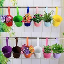 mr garden metal flower pots vertical