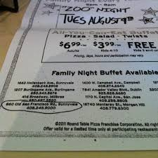 family night buffet every tuesday 5pm 8pm partiting restaurants 6 99