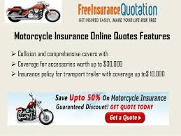 Insurance Quote For Motorcycle Impressive Affordable Motorcycle Insurance Quotes