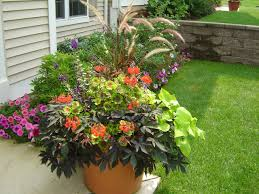 Outdoor Container Planting  WightsContainer Garden Ideas Full Sun