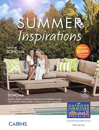 The outdoor furniture specialists cairns summer inspirations catalogue by tofs the outdoor furniture specialists issuu