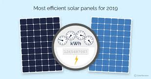 15 Most Efficient Solar Panels For Your Home In 2019