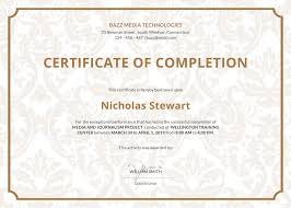 certificate template pages certificate of completion template pages best of project pletion