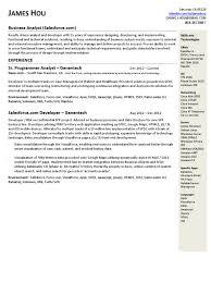 resume template sforce developer resume sforce developer template sforce developer resume