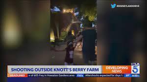 shooting outside Knott's Berry Farm ...