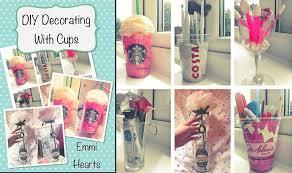 emmihearts decorating cups diy room decorations tierra este decor ideas bedroom girls simple decoration cute teen