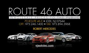 Route 46 Auto Business Cards Redi Print