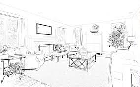 interior design bedroom sketches. Drawn Bedroom Basic Interior Design #12 Sketches