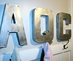 decorative letters for wall large metal letters decorative letters for walls metal large metal decorative wall