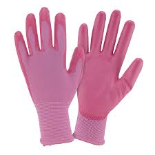 display reviews for 3 pack women s large pink polyester garden gloves