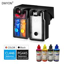 Canon Printer Black Ink Light Blinking Us 6 46 43 Off Dmyon Refillable Ink Cartridge Replacement For Canon Pg445 Cl446 Xl For Pixma Mx494 Mg2944 Ip2840 Mg2440 Mg2540 Inkjet Printer In Ink