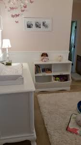 chair rail nursery. Wonderful Rail Baby Girl Room Conversion  ToyBook Storage Completion Girl Nursery   For Chair Rail Nursery I