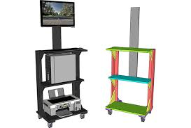 standing computer desk. Contemporary Desk Mobile Stand Up Computer Desk PLAN To Standing B