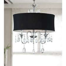 innovative black and crystal chandeliers wrought iron