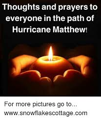 Image result for pray for those affected by hurricane matthew