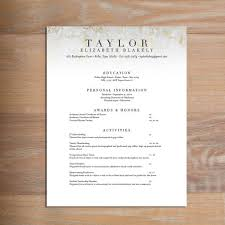 Formatted Resume New Golden Marble Fully Formatted Sorority Resume Sorority Recruitment