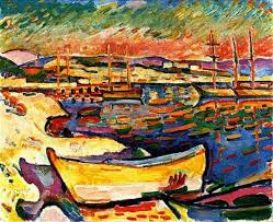 yellow seacoast artist georges braque completion date 1906