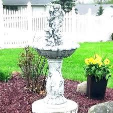 garden fountains outdoor fountains solar garden fountains resin solar fairy flower on demand outdoor water