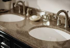 bathroom counter tops. Know The Benefits And Costs For 5 Popular Bathroom Countertop Materials, From Laminate To Quartz. Feeding Your Lawn. Vanity Countertops Counter Tops R