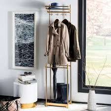 4 Hook Coat Rack Cool Shop happimess Tenley 32 32Hook Coat Rack with Umbrella Stand