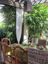 awesome bamboo curtain panels decorating ideas gallery in patio tropical design ideas