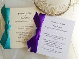 square wedding invitations with side ribbon Ribbon On Wedding Invitation square wedding invitations with satin side ribbon £1 45 each tying a ribbon on a wedding invitation