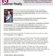 New Realtor Announcement
