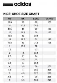 Adidas Kid Shoes Size Chart Kids