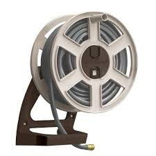 won t warp fade or rustconstructed of heavy duty cast aluminum this wall mounted hose reel is the last one you ll ever have to unlike