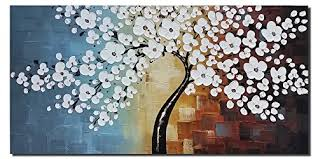 Small Picture Amazoncom Wieco Art Blooming life Extra Large Modern Stretched
