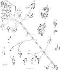 John deere parts diagrams john deere gt275 garden tractor hydro with 48 in mower deck pc2342 wiring harness gt262 025000 electrical