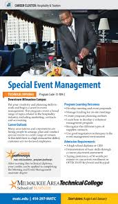 special event management diploma procard front jpg detailed program information