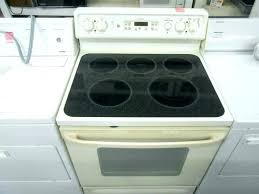 glass top stove burner not working smooth top stoves smooth top range cleaning flat top stoves glass top stove burner