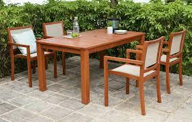 hardwood outdoor dining set 4 seater