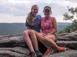 Summer camp teen girls