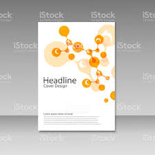 Magazine Cover Design Free Download Color Pages Cover Design Vector Abstract Molecules