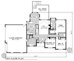 traditional style house plan 3 beds 2 50 baths 1700 sq ft 70 175 lovely floor plans