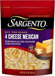 shredded cheese.  Cheese On Shredded Cheese R