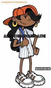 15 of your favorite black 90s cartoon characters reimagined as hbcu students numbuh 5 codename kids next door langston university