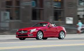 2012 Mercedes-Benz SLK350 Road Test - Reviews - Car and Driver