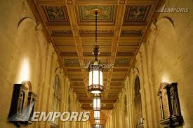 new york life insurance company annex lobby ceiling off 23rd street subway station