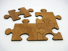 wooden jigsaw puzzle coasters set by inveniocrafts on 16 00