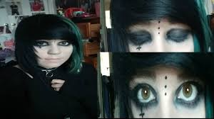 emo smokey eye makeup tutorial