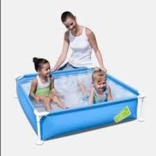 Купить каркасный <b>бассейн Bestway My First</b> Frame 122x122x30.5 ...