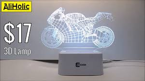 """$17 """"Hologram""""? <b>3D Acrylic lamp</b> by CNHIDEE - Unboxing and Test ..."""