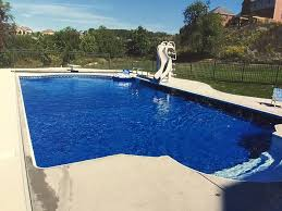 inground pools with diving board and slide. Inground-pool-south-hills-pittsburgh-steps-diving-board Inground Pools With Diving Board And Slide