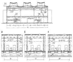 Реферат По дисциплине Типология зданий и сооружений На тему  Двухэтажные промышленные здания а многопролетное здание со световыми фонарями и укрупнённой сеткой колонн в верхнем этаже б здание с нижним