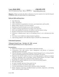 Objectives Of Resumes Best of Dental Hygiene Resume Objective Administrativelawjudge