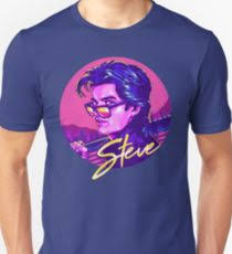 stranger things steve harrington uni t shirt